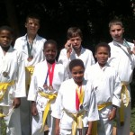 Karate Students from Bethany House Excel