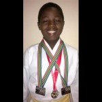 Sanele Dladla brings home medals The Bethany House Trust